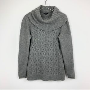 Lafayette 148  | Cowl Neck Cable Knit Sweater